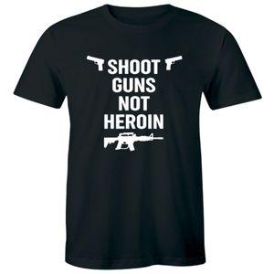 Shoot Guns Not Heroin - Anti Drug Dealer T-shirt
